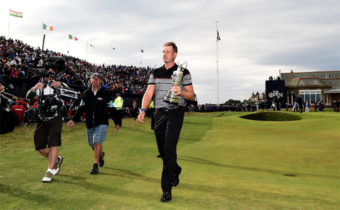 Henrik Stenson, nybliven Open Champion på Royal Troon 2016. Foto: R&A.